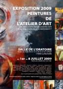 affiche 2 Atelier d'Art 2009
