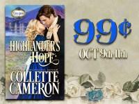 Highlander's Hope is 99¢ for 3 Days!