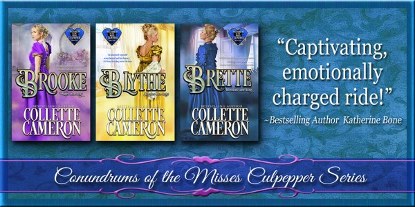 Collette Cameron historical romances, Conundrums of the Misses Culpepper series, Best Regency romance books, Historical romance books to read online, Regency historical romance ebooks, best regency romance novels 2017, Regency England dukes historical romance Kindle, Regency England historical romance Novels