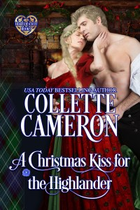 The rerelease of A CHRISTMAS KISS FOR THE HIGHLANDER is here!