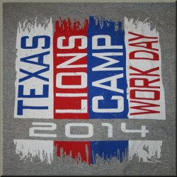 Texas Lions Camp Work Day