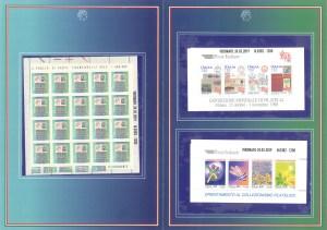 """Collezionismo My Time Srl - Folder francobolli """"valori nel tempo"""""""