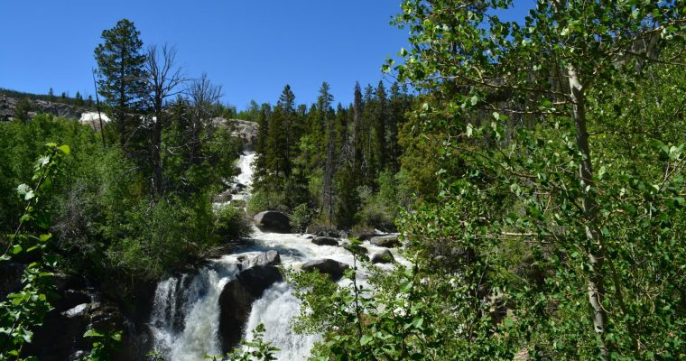 Popo Agie Falls Trail Hike {Wyoming}