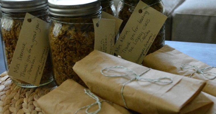 Zero Waste Teacher Gifts
