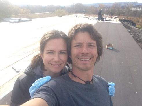 Matt and wife Sarah