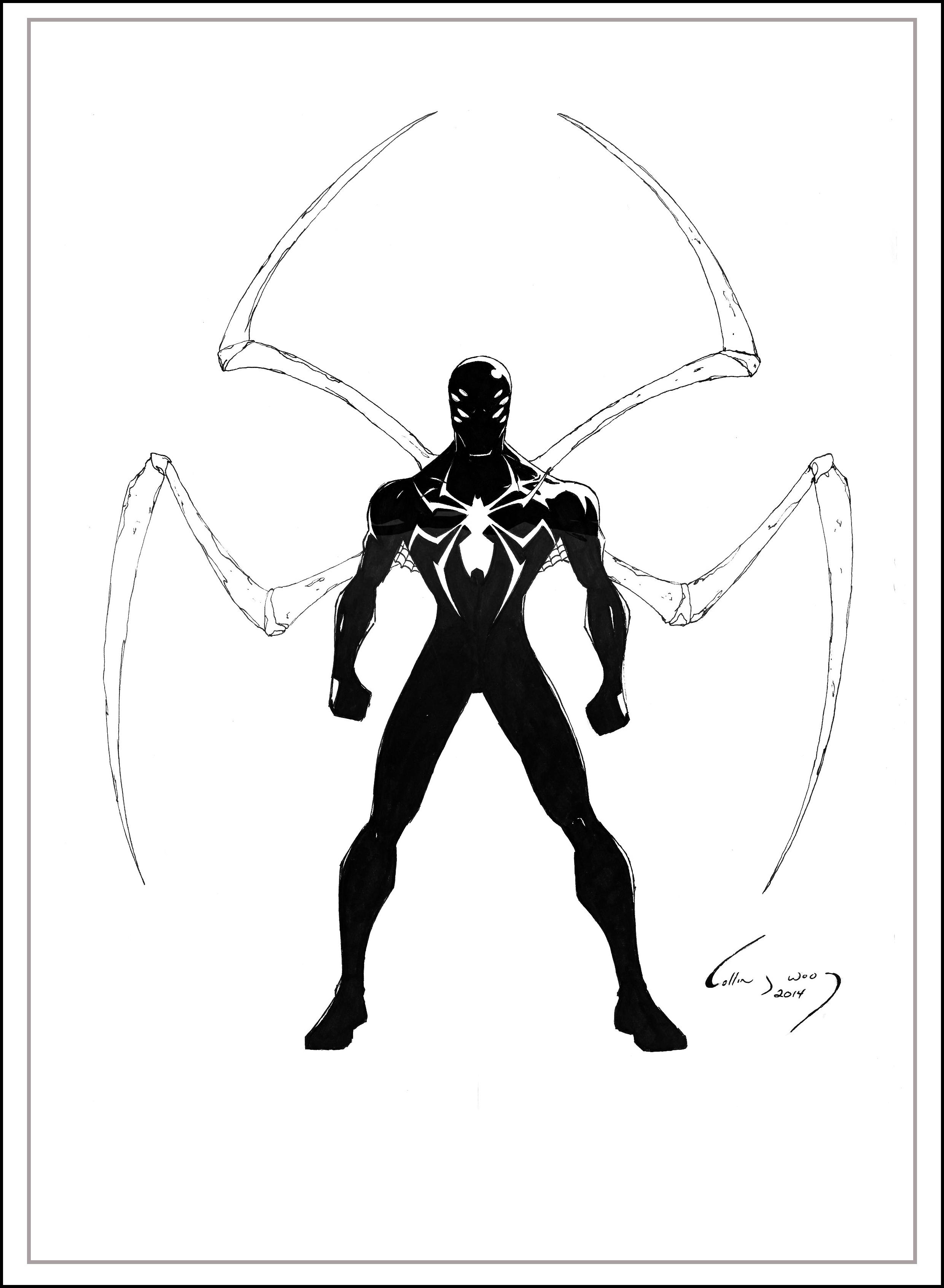 Spider Man Concept Art Suit