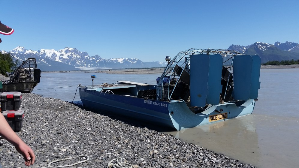 Child's airboat