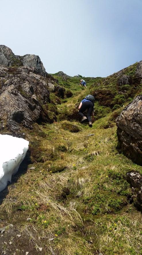 Heney Ridge Trail Scrambling 1