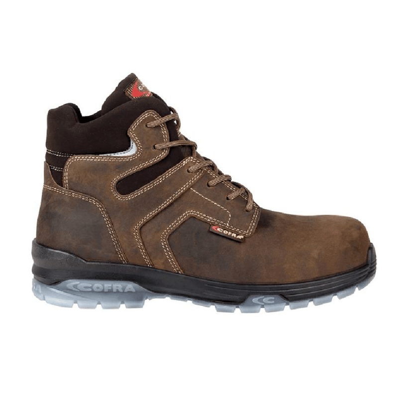 Cofra safety shoe POP Brown
