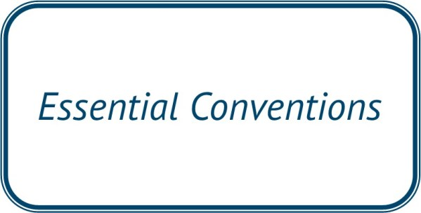 Essential Conventions