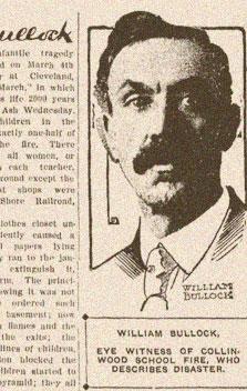 collinwood fire william bullock portrait advertisement