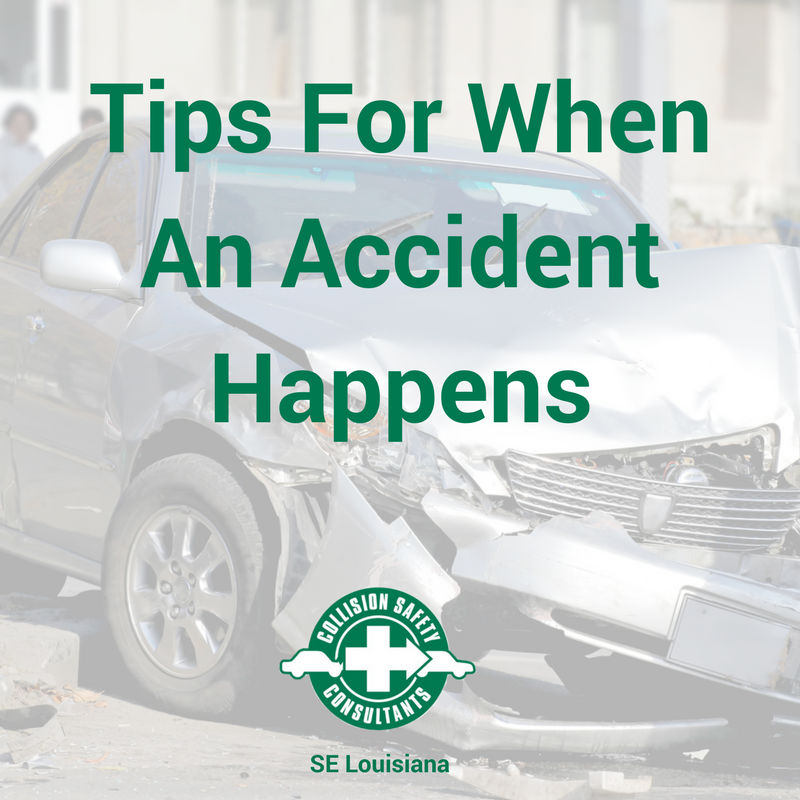 Accident Tips For When It's Most Important