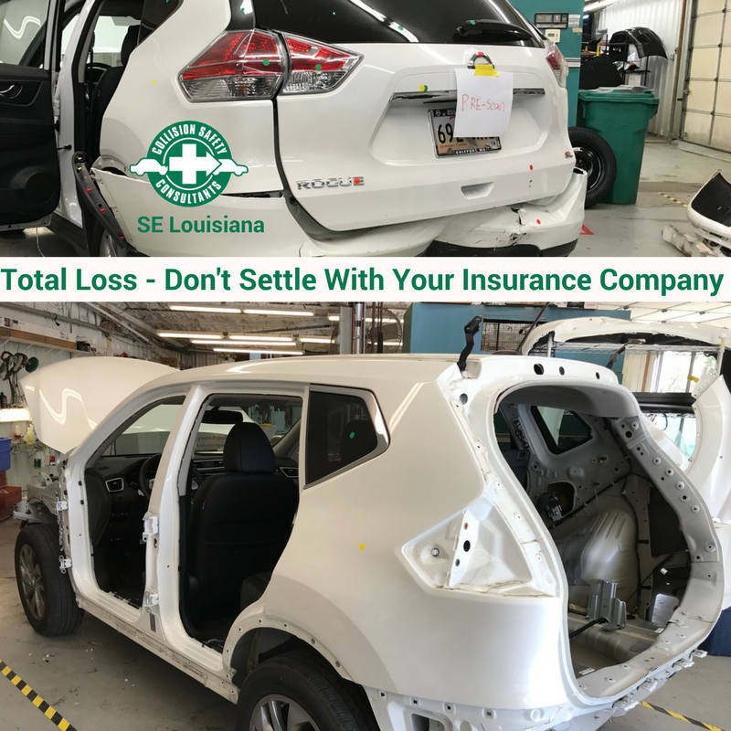 Total Loss Don't Settle With Insurance Company