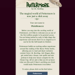 Pottermore…Or Less.