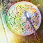 Day 12: Spoon.  Sunday is fun cereal day!