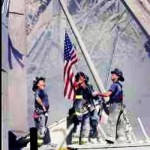 Day 11: Hero. I love this picture of these heroes.  Never forget.