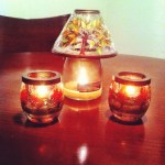 Day 13: Table. Time to change the candle decorations on my table for fall.