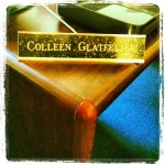 Day 16: Strange. It's quite strange to see a name plate on my desk.