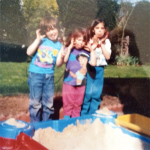 Day 28: Looking Back. I love this picture circa 1994 of Katelyn, Christie, & Matt. hahaha <3