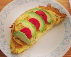 grandmabev-omeletwithavacado