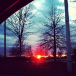 Day 8: Favorite. In case you couldn't tell, sunset pictures are my favorites. Wednesday, March 6's sunset.