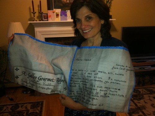handwrittenrecipesturnedintotowels-mothersdaygift