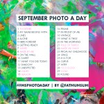 September 2013 Photo-a-Day List