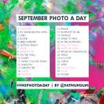 September 2013 Photo-a-Day List