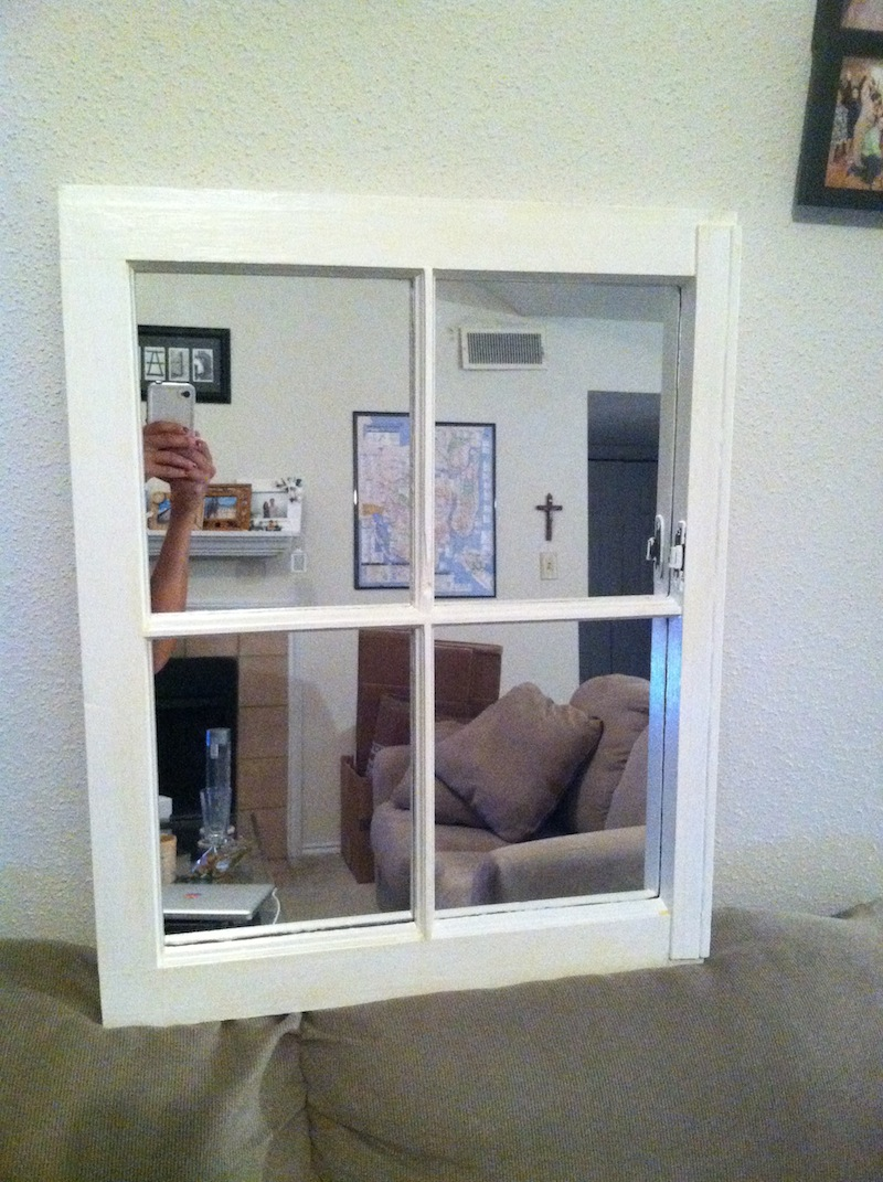 That Time I Made a Window Frame Mirror « Coll Writes
