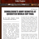 About That Harry Potter Quidditch Update on Pottermore…