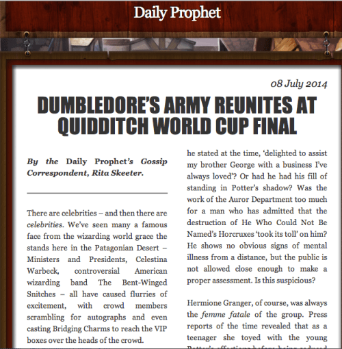 Quidditch-World-Cup-update-Rita-Skeeter