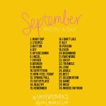 Photo-a-Day List: September 2014