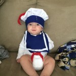 Zach's DIY Stay Puft Halloween Costume