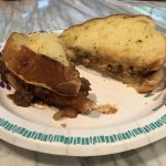 BBQ Sloppy Joe Grilled Cheese