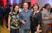 Gretchen Savery, Javier Garcia y Maria Cordoba