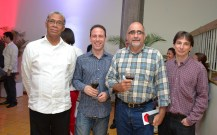 Manuel Matos Diedone, Javier Garcia, Jose Aceituno y Victor Ocana
