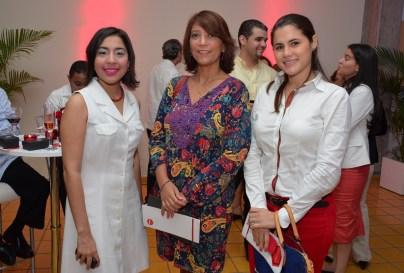 Tania Garcia, Ailin Lockward y Anne Sophie Tejeda