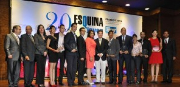 Entrega Premios Esquina Joven.  H. Barceló  en Santo Domingo República Dominicana- 1 de octubre del 2013. Foto Pedro Sosa