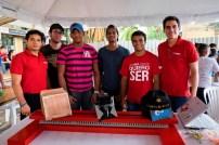 Concursantes en categoría Rover. Iván Jiménez, Ángel Tezanos, Bradimi Reynoso, Adrián Martínez, Sebastián Mejía y Edwin Sánchez. Foto: Ricardo Hernández.