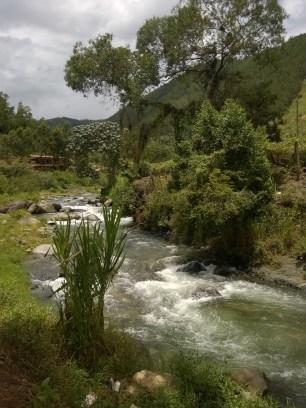 Río en Angostura, Jarabacoa.