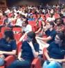 Parte del público asistente a la charla.