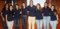 Los miembros del Comité de Estudiantes de Psicología