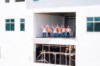 Los estudiantes tendrán una hermosa vista panorámica dle noroeste de Santo Domingo desde la azotea del nuevo edificio, con cafetería y lounge para esparcimiento y realización de eventos.