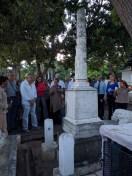Mausoleo en memoria de esposa e hijos de un cubano (murieron tras naufragar el barco en el que viajaban)