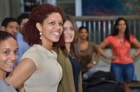 Decenas de estudiantes de las distintas áreas académicas participaron en el taller.