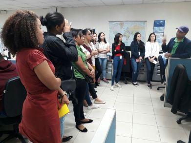 Estudiantes del Área de Economía y Negocios visitan puertos de Haina y Caucedo