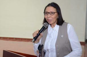 Decana del Área de Ciencias Sociales y Humanidades, Elsa Alcántara