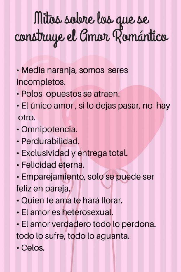 Mitos sobre los que se construye el Amor Romántico_