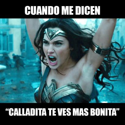 Meme Calladita te ves más bonita