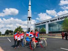 Primer grupo de estudiantes de INTEC que participó en el Desafío Rover